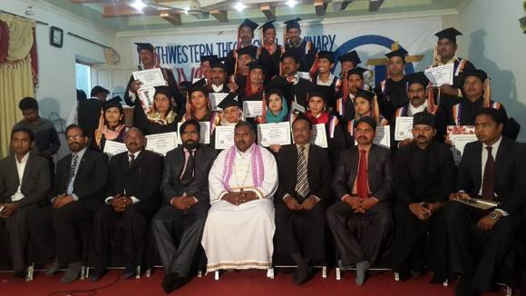 Convocation_of_North_western_Theological_seminary_Father_Cyril