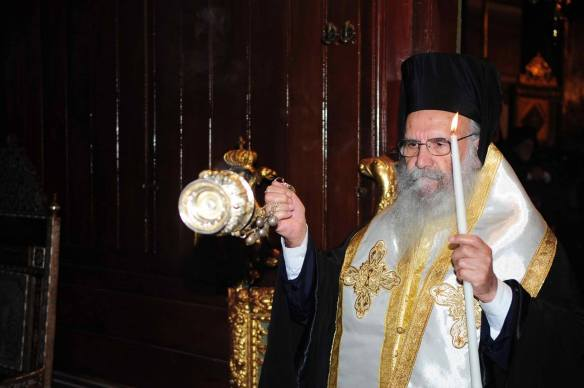 ARCHBISHOP GREGORIOS OF THYATEIRA AND GREATBRITAIN