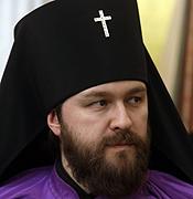 Erzbischof Hilarion Alfejev (Leiter des Aussenamtes der ROK)