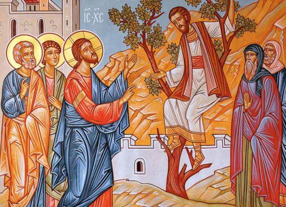 Jesus and Zachaeus