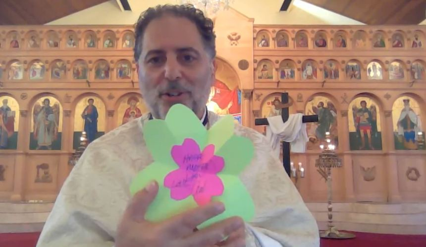 Mothers' Day Card – Showing our Moms (and God) our love