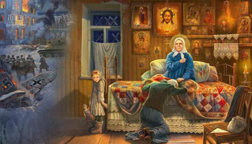 Αγία Ματρώνα: Οι έσχατοι καιροί!