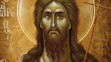 Ορθόδοξος Συναξαριστής 7 Ιανουαρίου Άγιος Ιωάννης ο Πρόδρομος