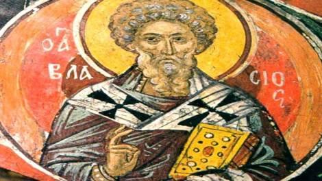 Ορθόδοξος συναξαριστής 11 Φεβρουαρίου, Άγιος Βλάσιος επίσκοπος Σεβαστείας