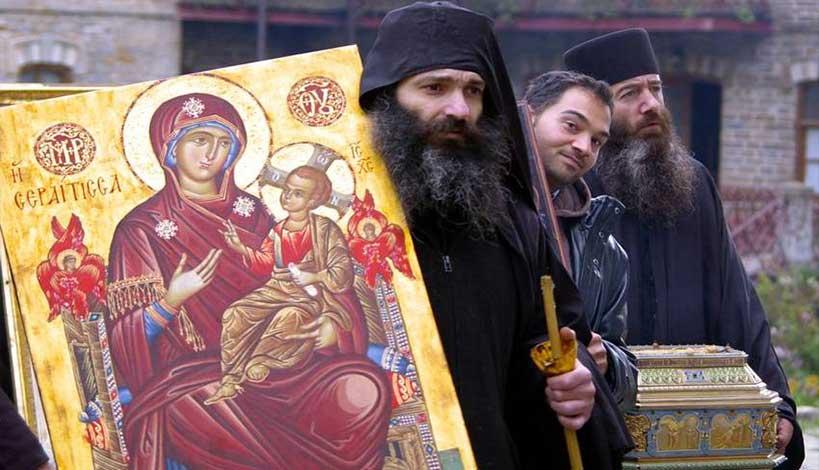 Άγιος Ανθίμος της Χίου : Εμείς οι μοναχοί τρία τινά είναι εκείνα, τα οποία οφείλομεν να φυλάξωμεν