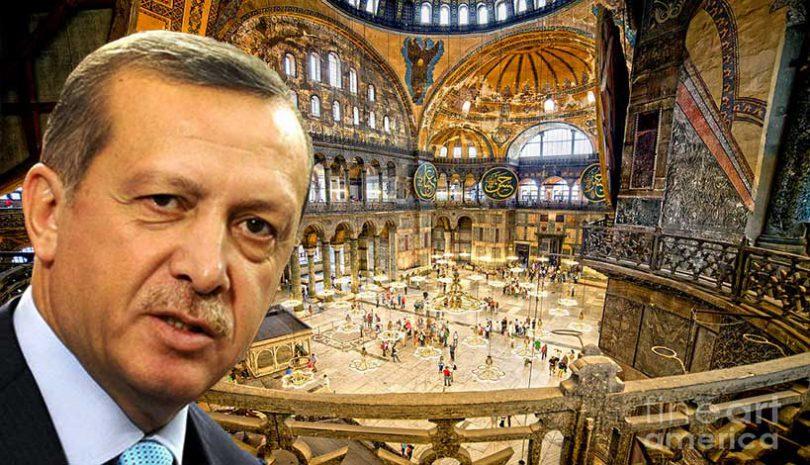 Προσευχή στην Αγία Σοφία: Προσχεδιασμένη η ακραία πρόκληση του Ερντογάν