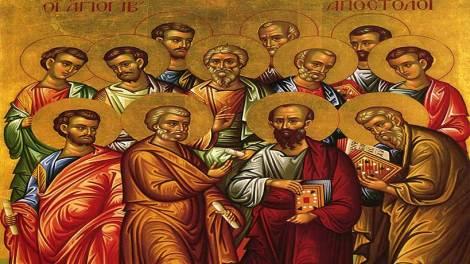 Εορτολόγιο 2020: Τρίτη 30 Ιουνίου σήμερα η Σύναξη των Αγίων Δώδεκα Αποστόλων