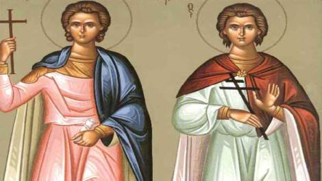 Ορθόδοξος συναξαριστής 18 Αυγούστου, Άγιοι Φλώρος και Λαύρος