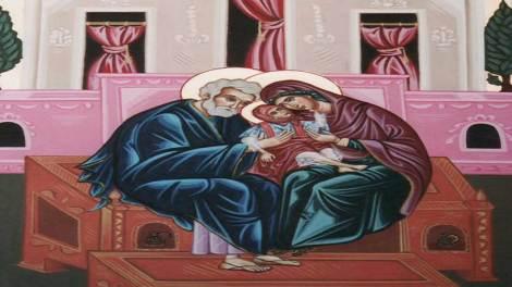 Ορθόδοξος συναξαριστής 9 Σεπτεμβρίου 2018, Μνήμη των Δικαίων Θεοπατόρων Ιωακείμ και Άννης