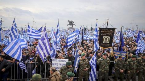 Reuters: «Η ελληνική κυβέρνηση κατηγορεί την Ρωσία ότι οργάνωνε τα συλλαλητήρια για το Σκοπιανό»!