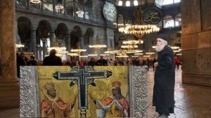 Μέχρι να μπει ο ΤΙΜΙΟΣ ΣΤΑΥΡΟΣ στην Αγία Σοφία η Ζωοποιός Δύναμη του θα σφραγίσει τα Ελληνικά Σύνορα
