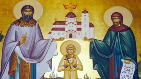 Υποδοχή του ιερού λειψάνου των αγίων νεοφανών μαρτύρων Ραφαήλ, Νικολάου και Ειρήνης των εν Λέσβω μαρτυρησάντων