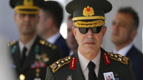 """Προκαλεί ο Τούρκος αρχηγός ΓΕΕΘΑ: «Δεν θα επιτρέψουμε τετελεσμένα στο Αιγαίο - """"Γαλάζια πατρίδα"""" μας η ΑΟΖ»"""