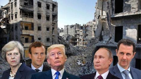 Η επόμενη μέρα του βομβαρδισμού της Συρίας