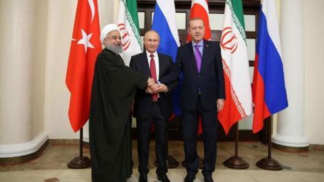 Η Άγκυρα, η Μόσχα και η Τεχεράνη υπέρ της σταθερής εκεχειρίας στη Συρία