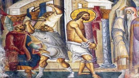 Τα Άγια Πάθη: Η μαστίγωση του Ιησού Χριστού - Μία υπερβολική ντροπή