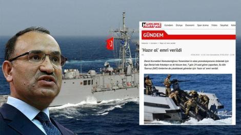 Προκλητική στρατιωτική ετοιμότητα εξήγγειλε η Τουρκία