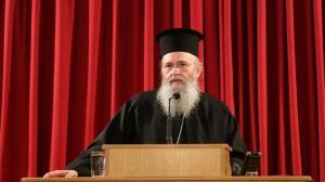 """Ναυπάκτου Ιερόθεος: «Η """"στρατηγική"""" της Πολιτείας έναντι Εκκλησιαστικών θεμάτων εκτός της Ελλάδος»"""
