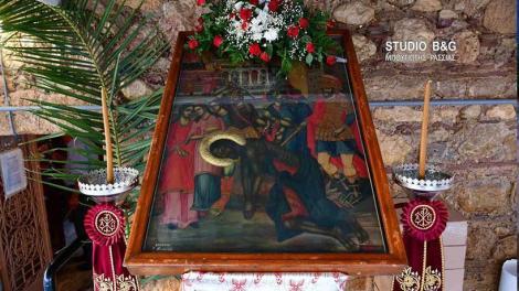 Αργολίδα: Η Αποτομή της Τιμίας Κεφαλής του Αγίου Ιωάννου του Προδρόμου στην Κοινότητα Ήρας
