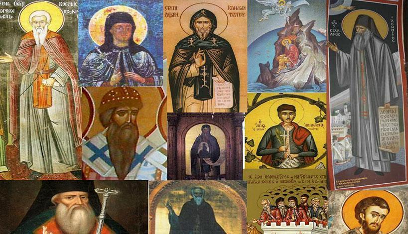Άγιον Όρος: Αγιορείτες Άγιοι εορτάζοντες τον Σεπτέμβριο