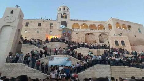 Συρία: Εορταστικός εσπερινός και λιτάνευση της εικόνας της Παναγίας της Saidnaya - ΕΙΚΟΝΕΣ