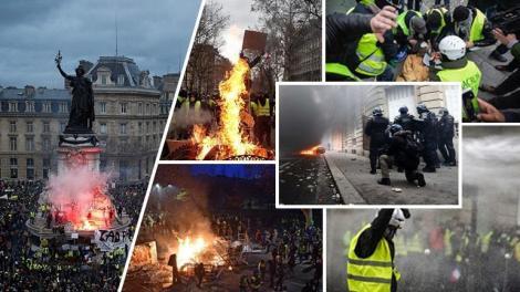 Κίτρινα Γιλέκα: Τέταρτο Σαββατοκύριακο βίας στη Γαλλία
