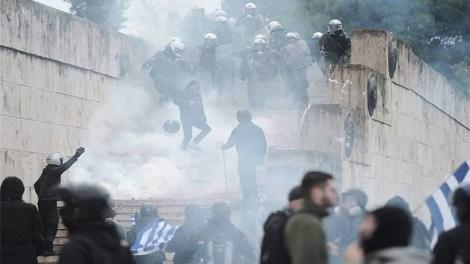 Συλλαλητήριο για την Μακεδονία : Επεισόδια με χημικά - Τι είπαν οι αρχές στους παρόντες Ιεράρχες και τι απάντησαν