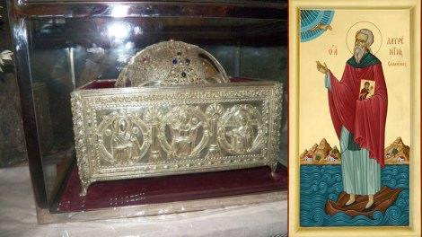 Ορθόδοξος συναξαριστής Πέμπτη 7 Μαρτίου 2019, Όσιος Λαυρέντιος κτήτορας της Ιεράς Μονής Φανερωμένης στη Σαλαμίνα, βίος και Ευαγγέλιο