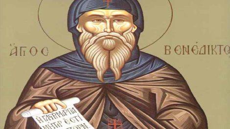 Σήμερα εορτάζει ο Όσιος Βενέδικτος ο εκ Νουρσίας