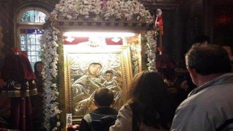 Σήμερα η Σύναξη της Παναγίας της Τρυπητής στο Αίγιο