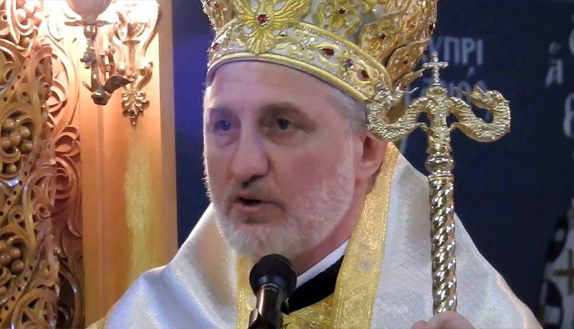 """Αρχιεπίσκοπος Αμερικής Ελπιδοφόρος: """"Φοράω μάσκα ως πράξη αγάπης προς τον συνάνθρωπό"""""""