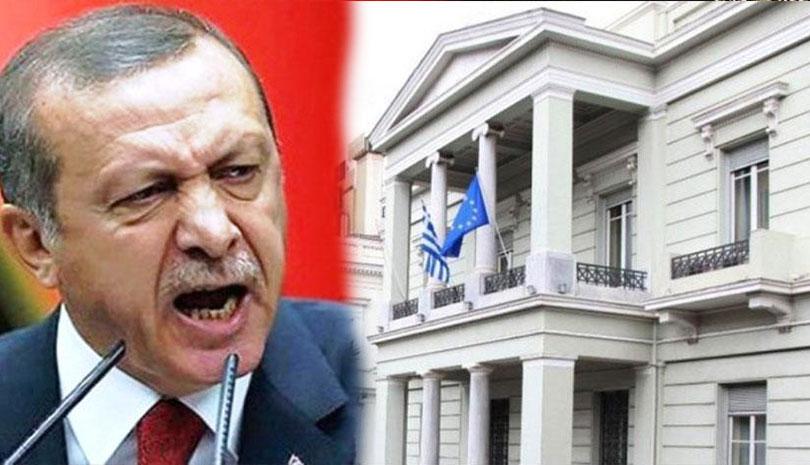 Αντίδραση του ΥΠΕΞ στις νέες προκλήσεις της Τουρκίας