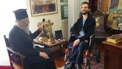 Ο Μητροπολίτης Ναυπάκτου Ιερόθεος και ο Στέλιος Κυμπουρόπουλος σε μια ενδιαφέρουσα συνομιλία (video)