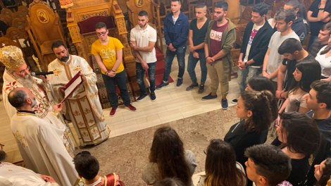 Μητροπολίτης Κισάμου Αμφιλόχιος προς μαθητές: Χαλυβδώστε και μπολιάστε την ζωή σας μέσα στην ζωή και τα μυστήρια της Εκκλησίας μας.