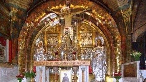 Το μέτωπο του Χριστού στον Πανάγιο Τάφο έσταζε ιδρώτα και αίμα.