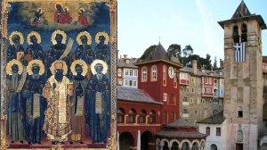 Άγιον Όρος 10 Ιουλίου: Σύναξη πάντων των Βατοπαιδινών Αγίων