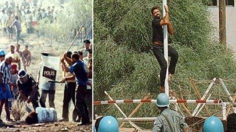 23 χρόνια από τη δολοφονία Ισαάκ και Σολωμού - Απομακρύνθηκε το μνημείο τους από το οδόφραγμα Δερύνειας