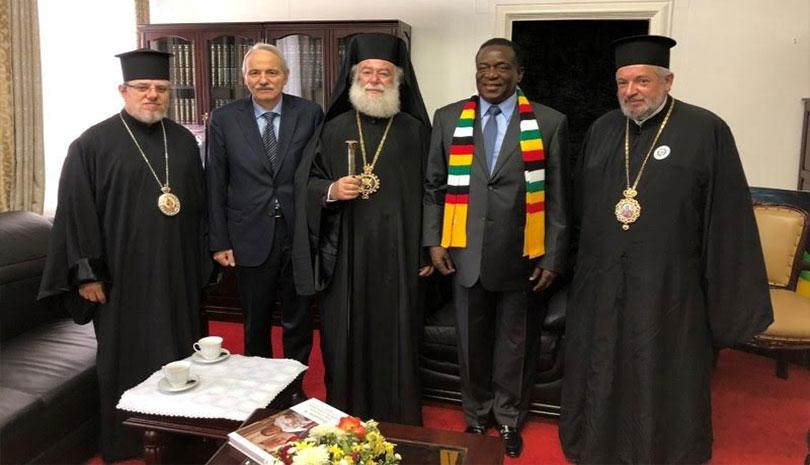 """Αλεξανδρείας Θεόδωρος Β': """"Η οδός της αγάπης είναι η οδός της ορθής θρησκευτικότητας"""", του Ζιμπάμπουε Σεραφείμ"""