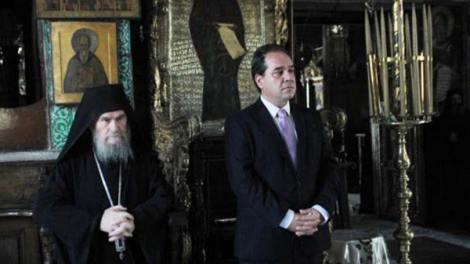 Άγιο Όρος: Η Ιερά Κοινότητα αναγνωρίζει την προσφορά Δήμτσα στη διοίκηση