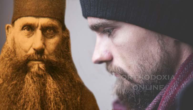 Πάτερ Σιλουανέ, βοηθήστε με. Ο Ρωμανός μου είπε ότι έχασε την πίστη του