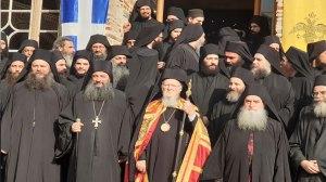Άγιον Όρος | Στην Ιερά Μονή Παντοκράτορος ο Οικ. Πατριάρχης Βαρθολομαίος