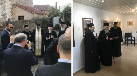 Άγιον Όρος | Στο κελλί του Διονυσίου εκ Φουρνά ο Οικ. Πατριάρχης Βαρθολομαίος