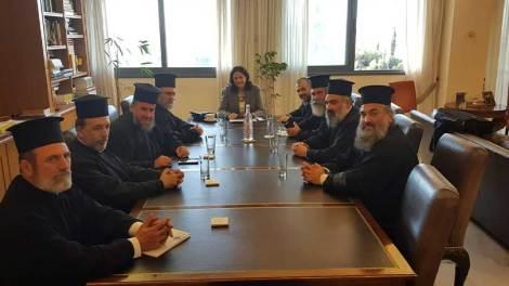 Ελλάδα | Αντιπροσωπείες του Ι.Σ.Κ.Ε. και της Ε.Σ.Κ.Ε.Κ. επισκέφτηκαν την Νίκη Κεραμέως