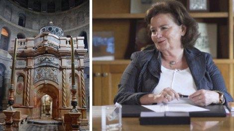 Ελλάδα | Διεθνές Βραβείο στην καθηγήτρια Αντωνία Μοροπούλου για το έργο της στον Πανάγιο Τάφο