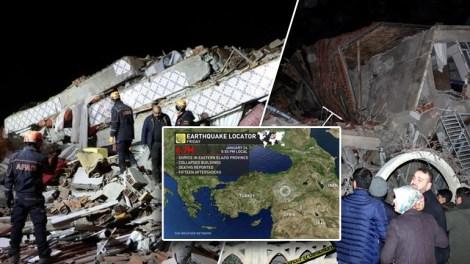 Κόσμος | Ισχυρός σεισμός στην Τουρκία: Αυξάνονται τα θύματα