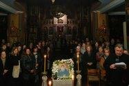 Υποδοχή Τιμίας Κάρας Οσίου Δαυίδ του Γέροντος στο Αγρίνιο