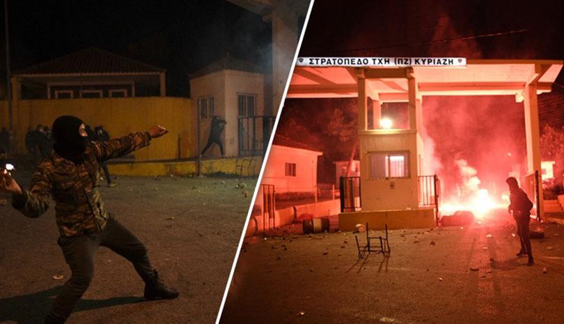 Άτακτη υποχώρηση του Μαξίμου - Απόσυρση των ΜΑΤ από Λέσβο και Χίο