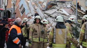 Κωνσταντινούπολη: Κατέρρευσε 7οροφο κτίριο (ΦΩΤΟ & ΒΙΝΤΕΟ)
