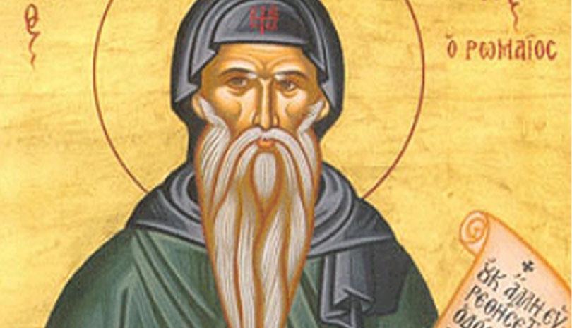 Ο Άγιος Κασσιανός ο Ρωμαίος που γιορτάζει σήμερα για τους οχτώ λογισμούς της κακίας