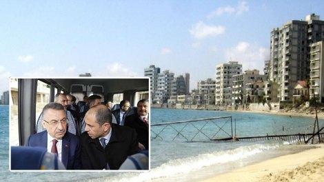"""Τούρκος Αντιπρόεδρος Φουάτ Οκτάι: """"Η Αμμόχωστος είναι γη των Τουρκοκυπρίων"""""""